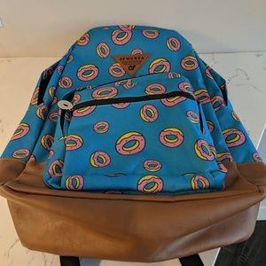 585ec9443cf0 Odd Future Bags - Odd Future All Over Donut Turquoise Backpack